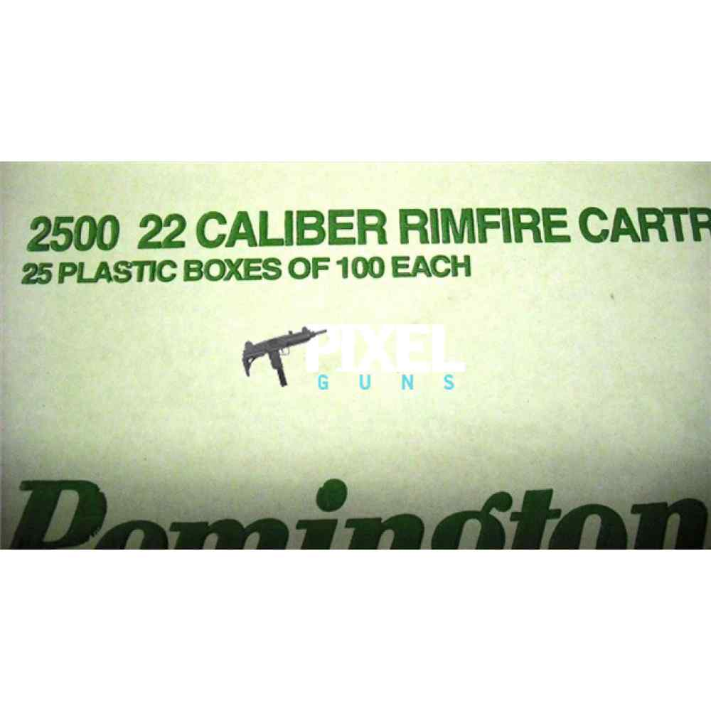 2500 ROUNDS REMINGTON GOLDEN BULLET .22LR