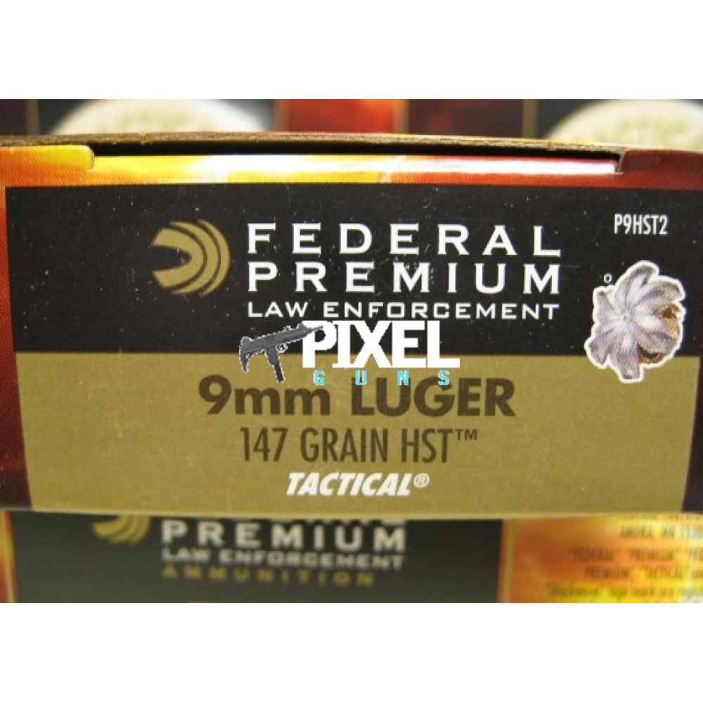 FEDERAL P9HST2 HST2 147 GR GOING FAST! 500 RDS